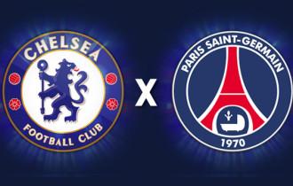 Chelsea vs PSG – Oferta ao vivo