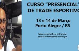 Curso de Trade Esportivo, em Porto Alegre
