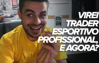 Virei profissional do Trading Esportivo