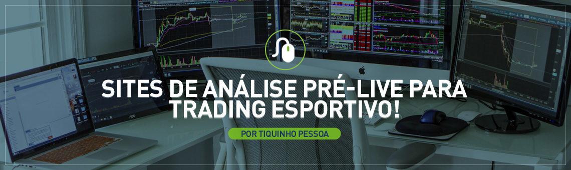 Sites de análise pré-live Trading Esportivo
